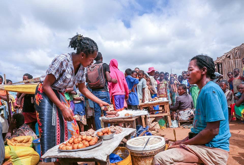 Madagascar marketplace