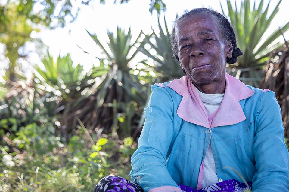 woman in Madagascar