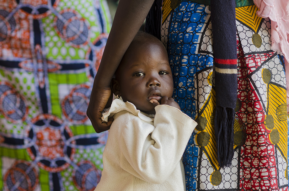 awaiting malaria nets in the gambia