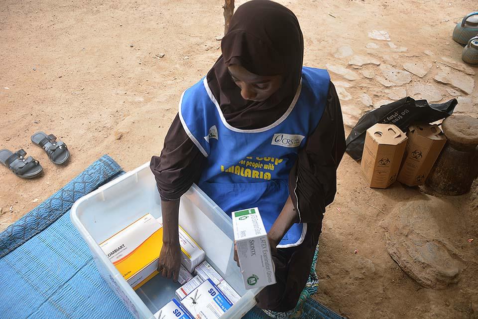 Nigeria malaria test kit