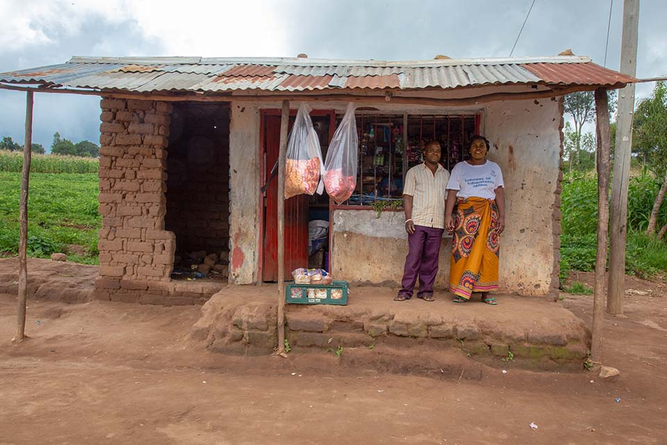 Malawi grocers