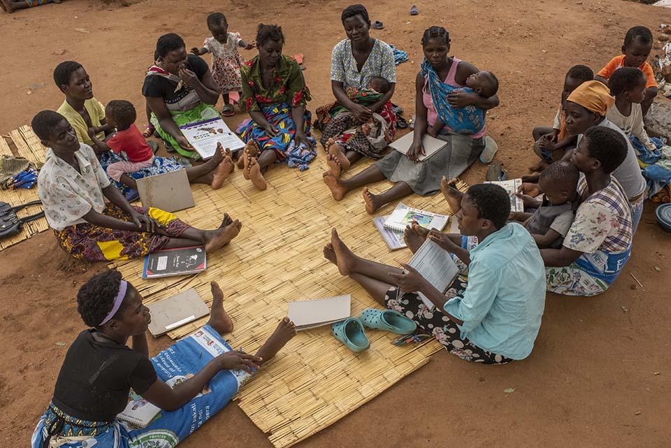 Malawi women's health meeting