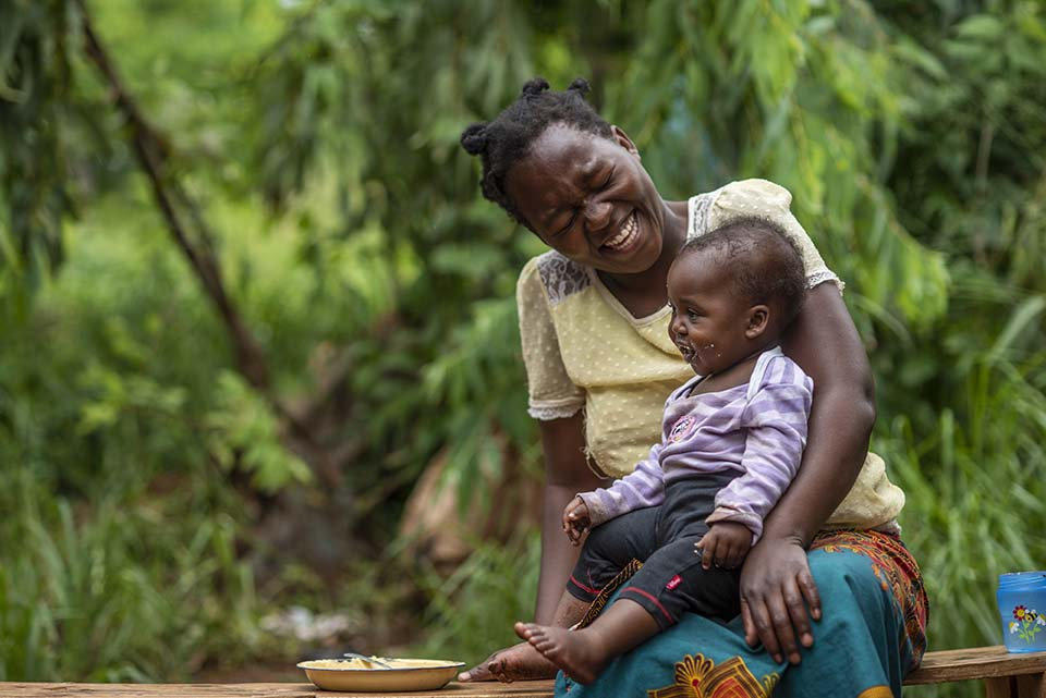 Malawi mother and child