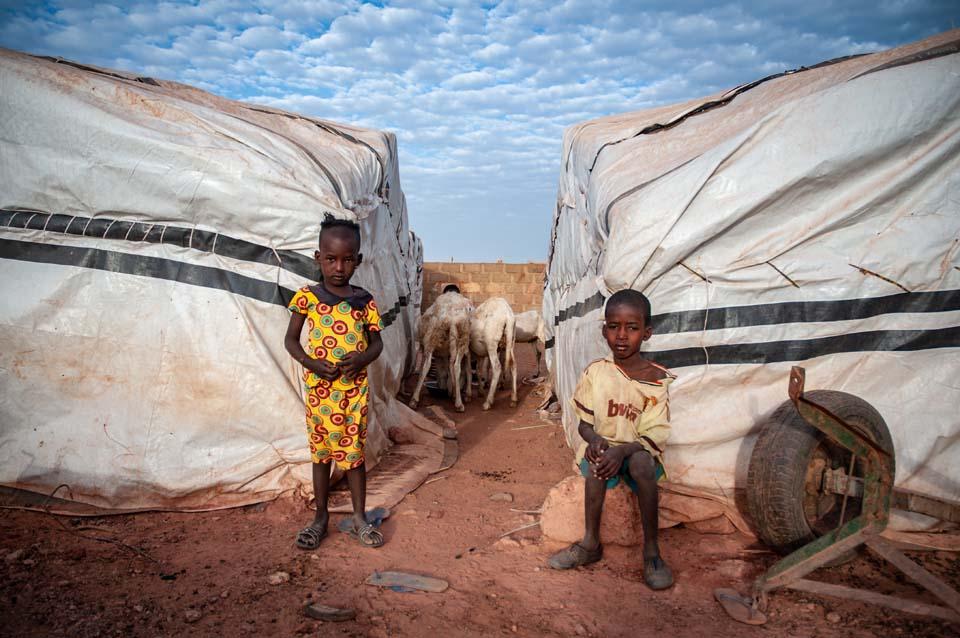 Mali displaced children