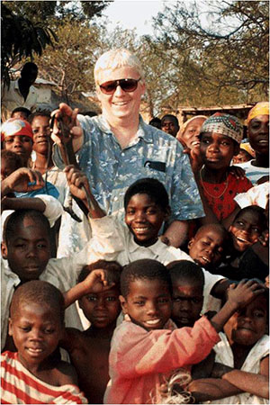 Michael Wiest in Rwanda