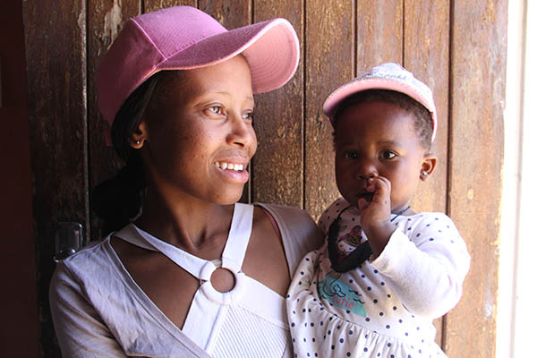 motehr and child in Lesotho