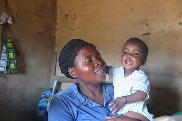 mother and child in Rwanda