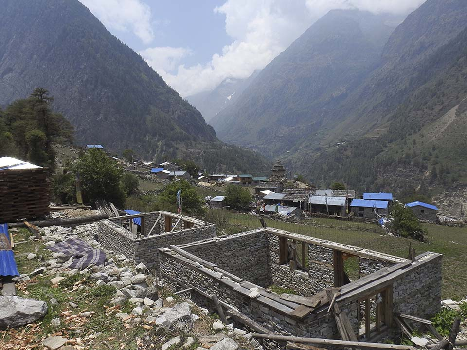 Nepal building project