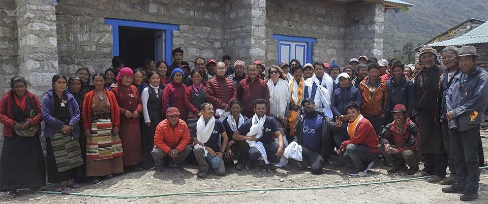 Nepal community center