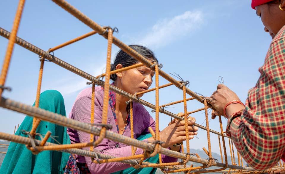 Nepal skilled mason