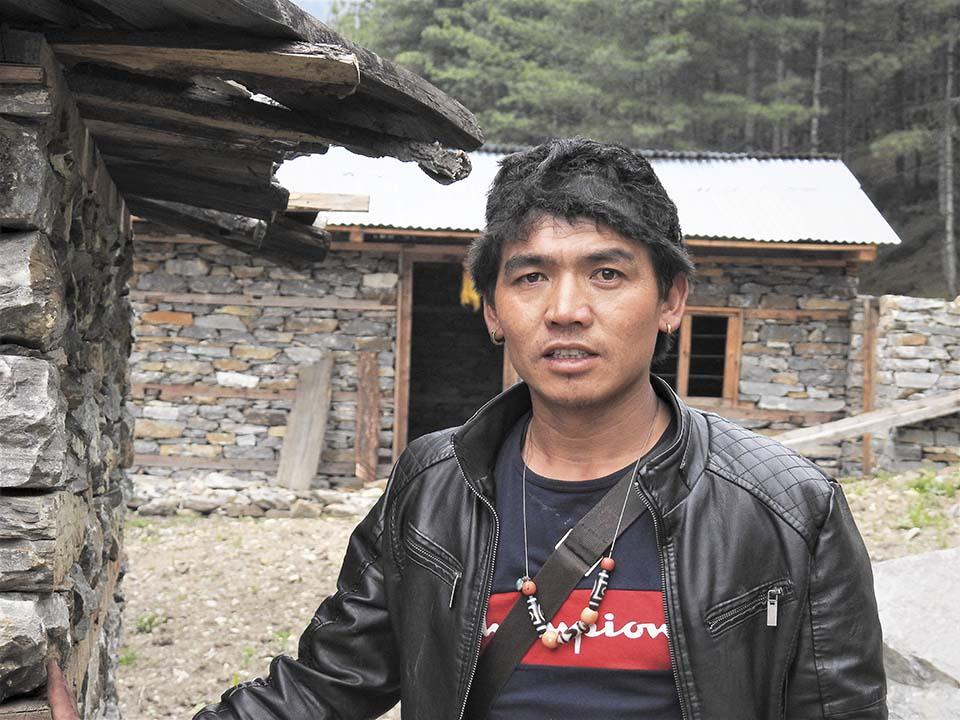 Nepalese mason