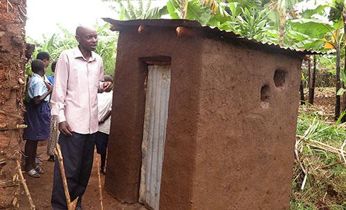 Rwanda new latrine improves hygiene