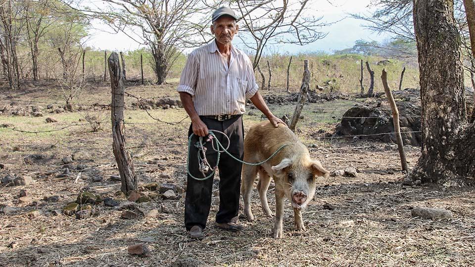 Nicaragua farmer