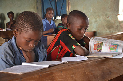 CRS and our local partners are supporting free education for orphans and vulnerable children in Nigeria. Photo by Michael Stulman/CRS