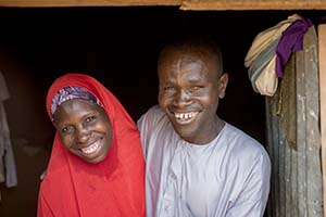 Niger couple