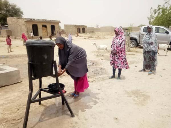 Nigeria hand washing