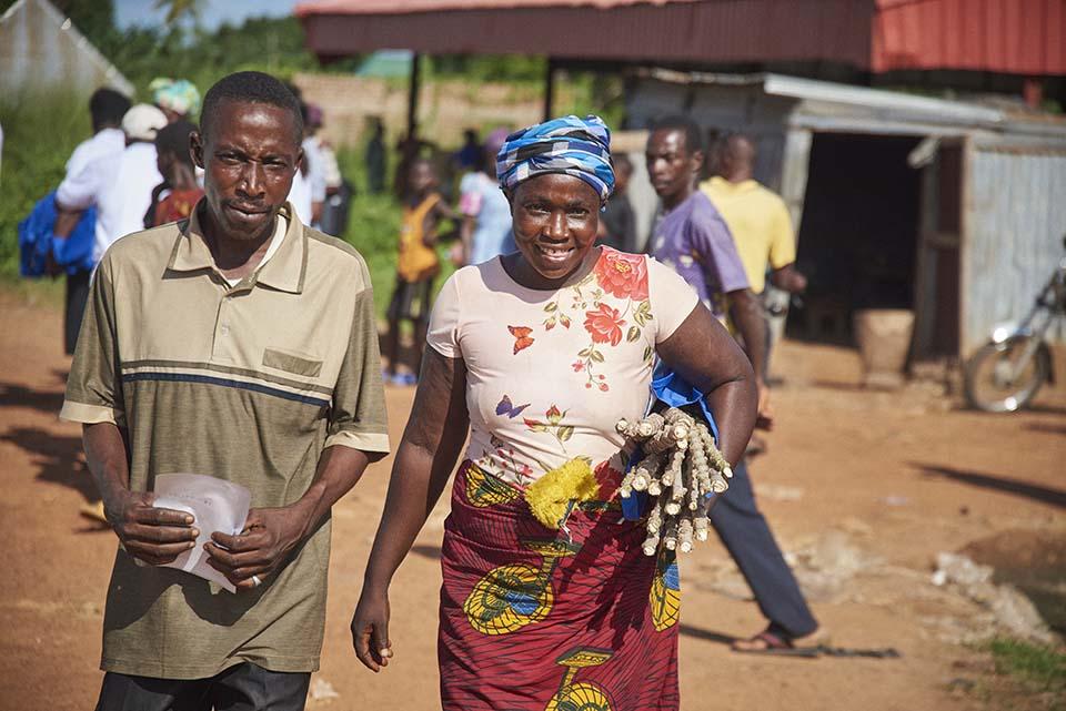 Nigerian cassava buyers