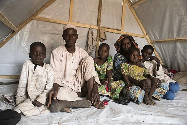 Nigerian family escaped from Boko Haram