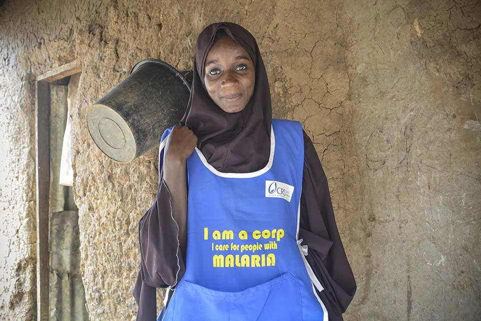 Nigerian volunteer