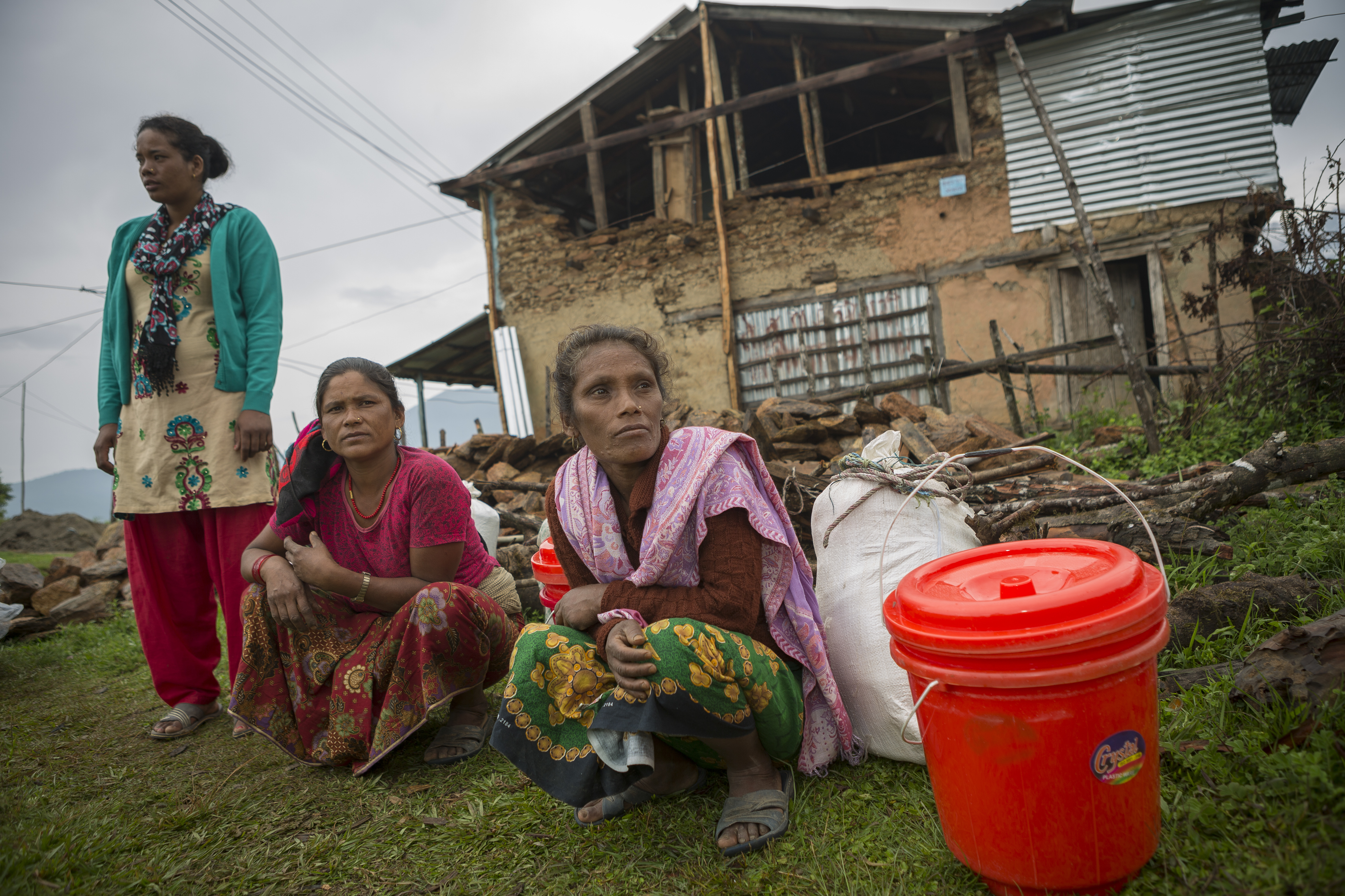 : CRS is helping Nepal earthquake survivors rebuild their homes and livelihoods. Photo by Jake Lyell for CRS