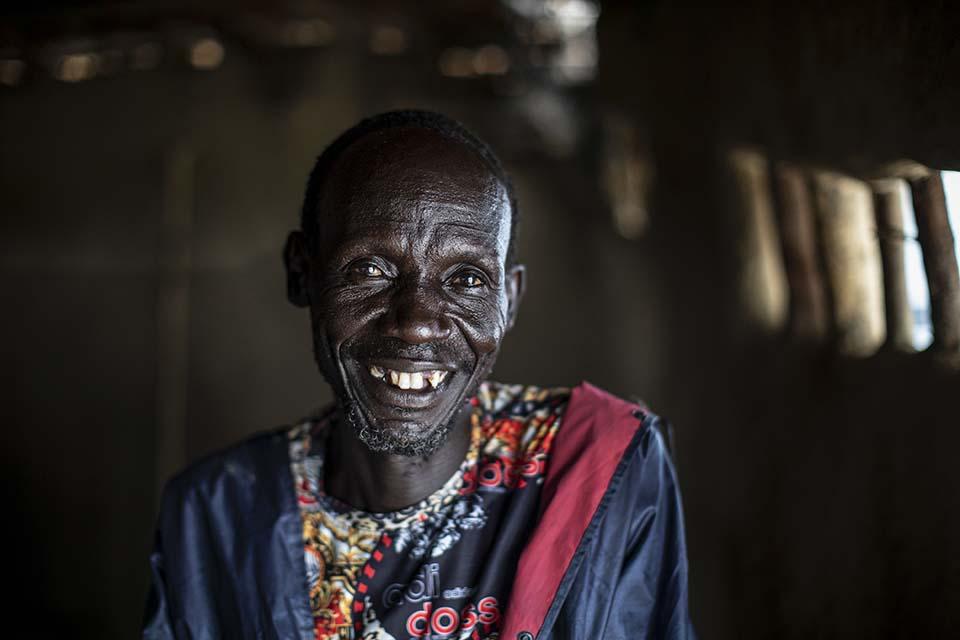South Sudanese conflict mitigation and peacebuilding participant