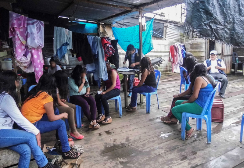 CRS and Caritas Madre de Dios in Peru are working to stop the exploitation of children, women and men who are vulnerable to trafficking because of their economic or family circumstances.