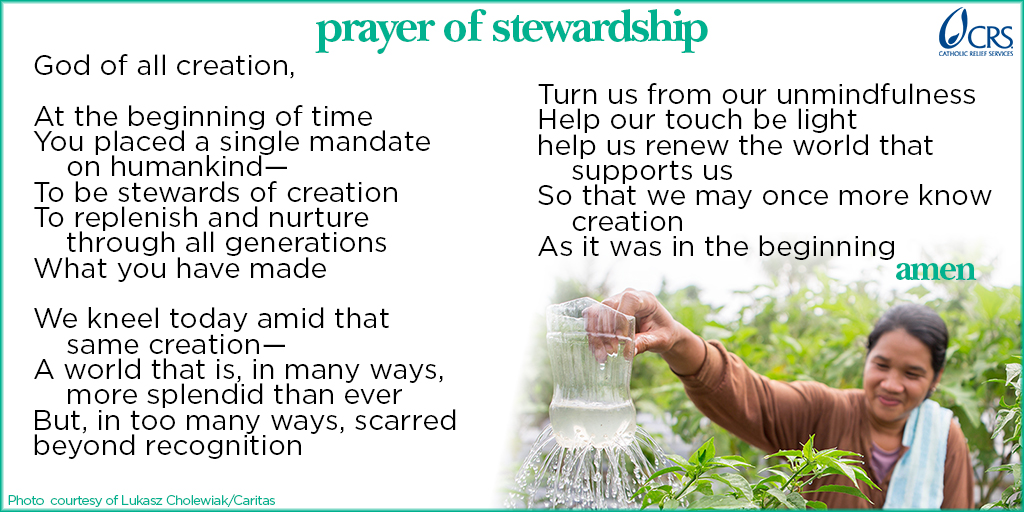 Prayer of Stewardship