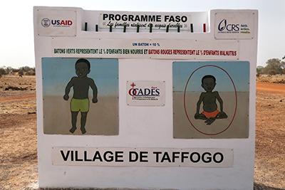 promoting health in Burkina Faso
