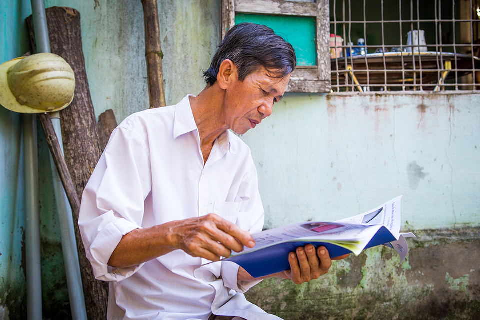 reading up on resilience in Vietnam