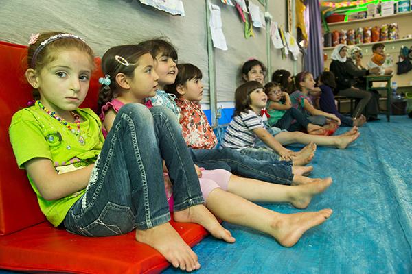 refugee children in Turkey