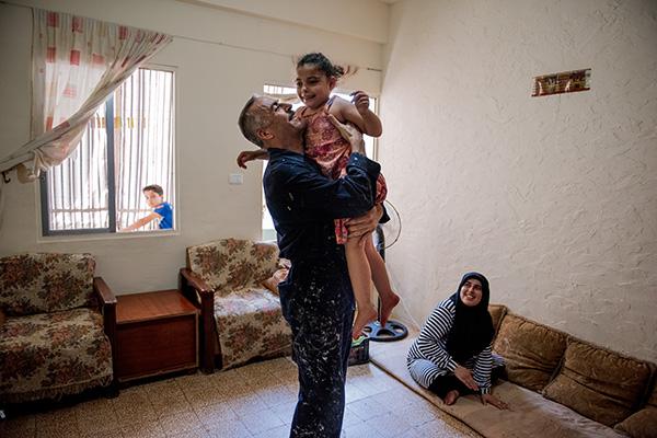 refugee family in Lebanon
