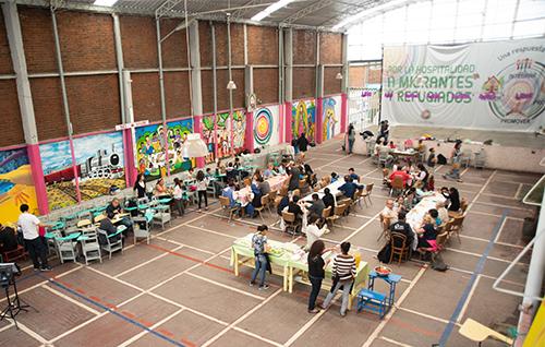 Mexico refugee shelter