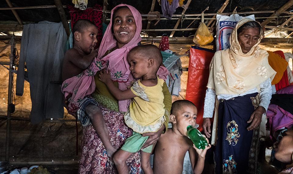 Rohingya refugee recounts harrowing journey