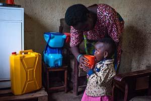 Rwanda clean water