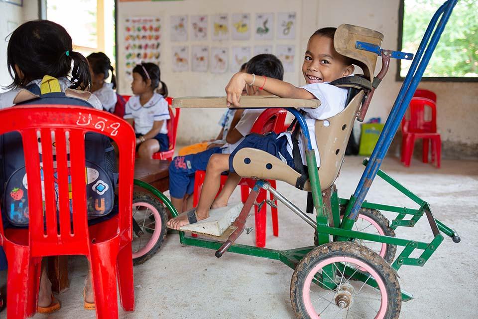 school inclusion in Cambodia