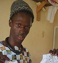 Senegal tailor