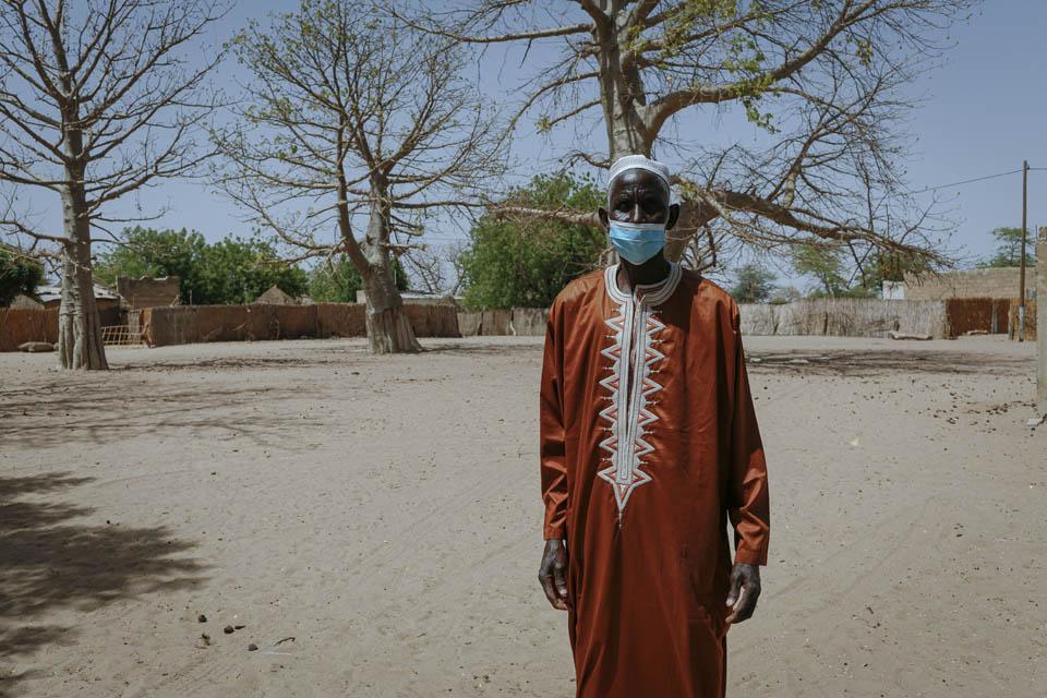 Senegal farmer