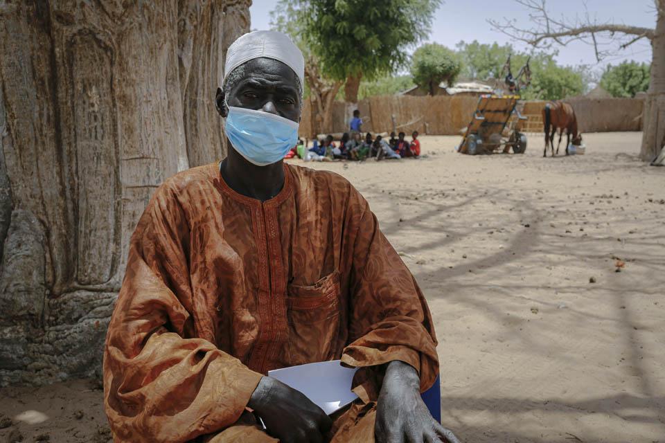 Senegal village leader