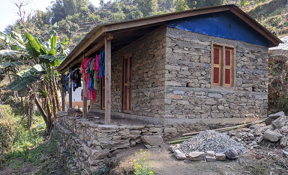 shelter in Nepal