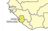 sierra leone map