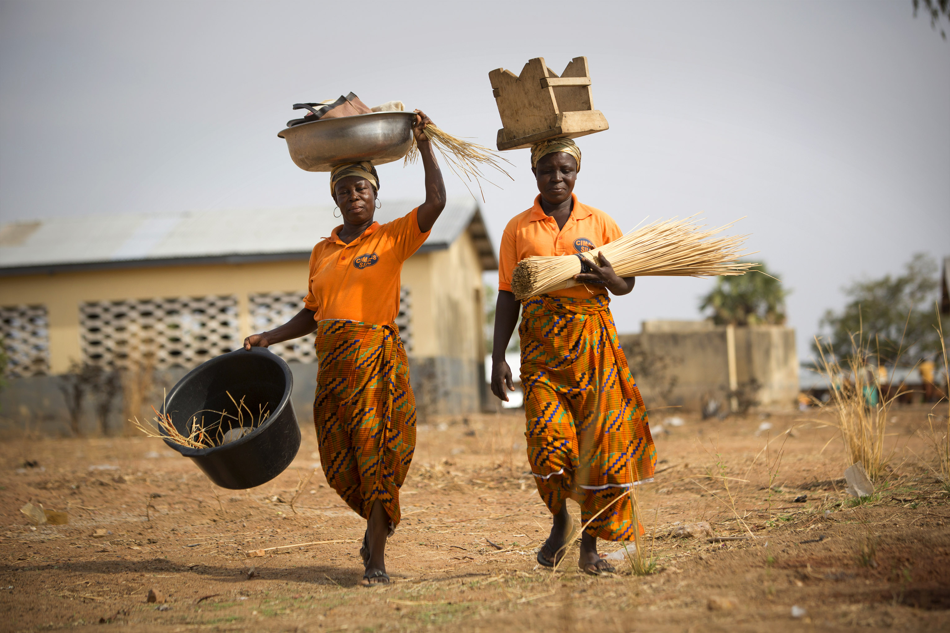 The ones who are impacted by climate change the most are the poorer groups depending on natural resource-based activities. These marginalized are often women. Photo by Jake Lyell for CRS