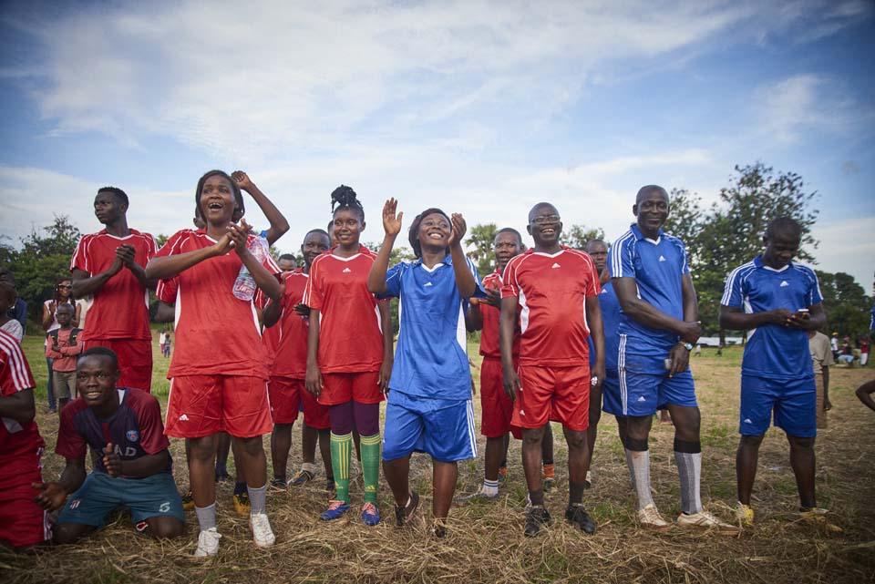 soccer players in Central African Republic