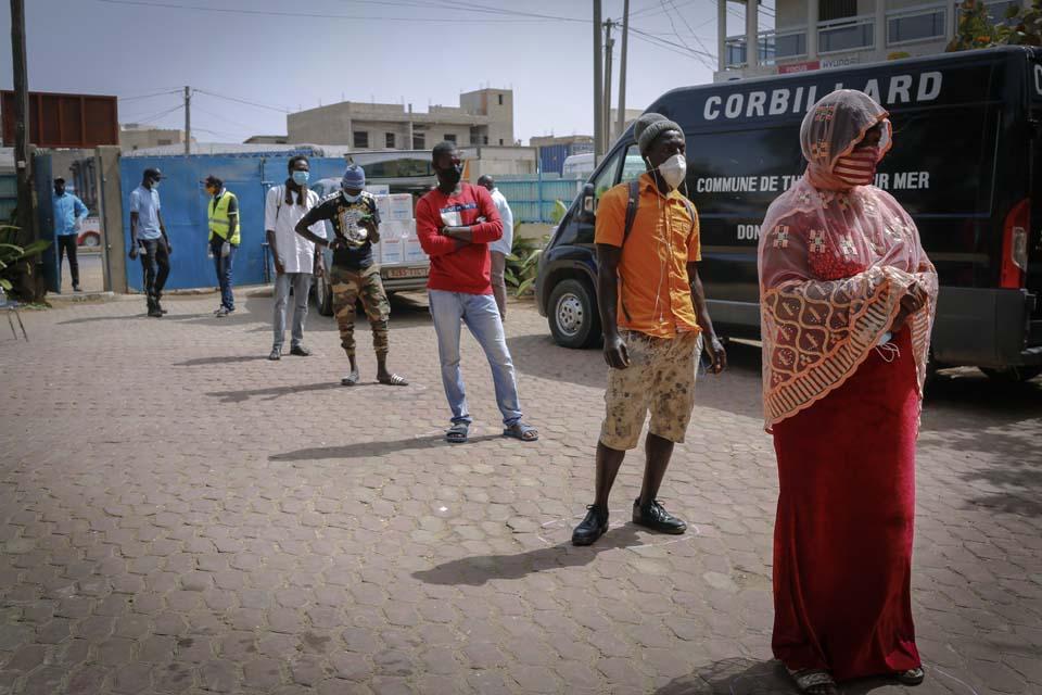social distancing in Senegal