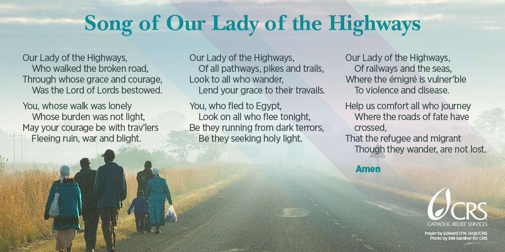 Song of Our Lady of the Highways, from Catholic Relief Services