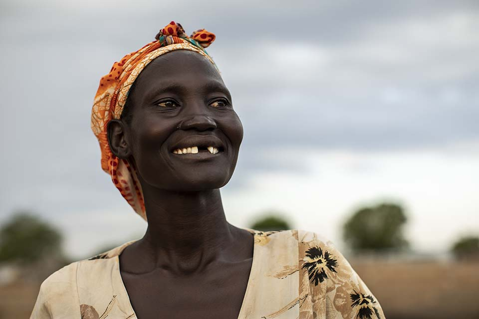South Sudan moms support group leader