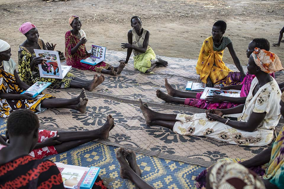 South Sudan moms support group