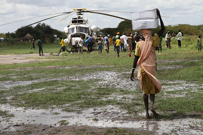 South Sudan emergency relief