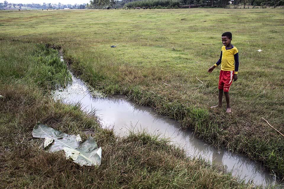stream in Ethiopia