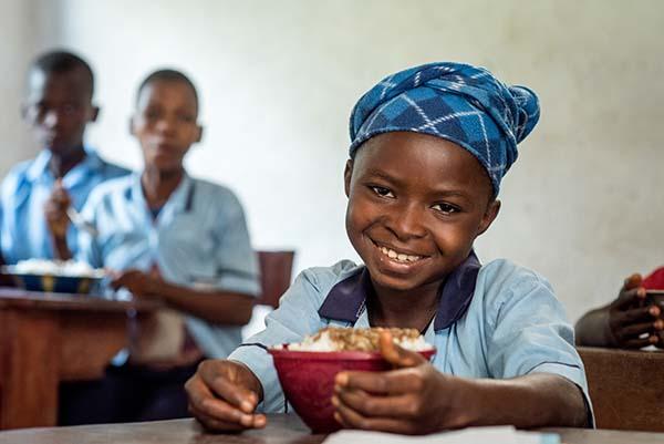 student in Sierra Leone