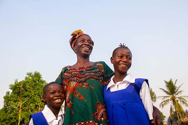 students in Sierra Leone